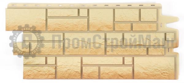 Цвет песчаный  фасадной панели BURG Docke
