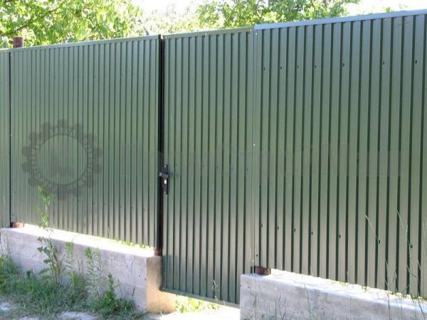 Забор из профлиста СС-10