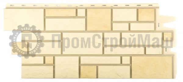 Цвет пшеничный  фасадной панели BURG Docke