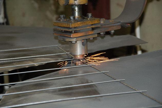 Изготовление сварной сетки