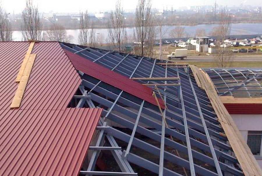 Профлист (профнастил) для крыши