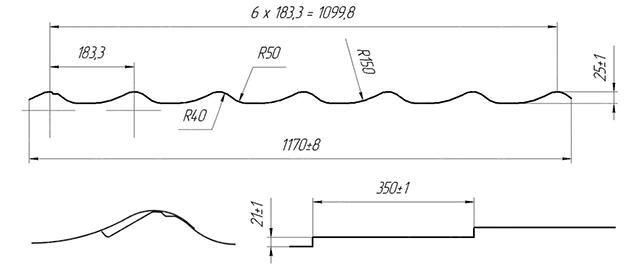 Металлочерепица супермонтеррей
