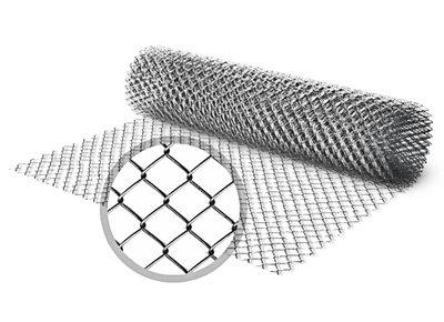 Сетка Рабица 50x50-1.6 Оцинкованная