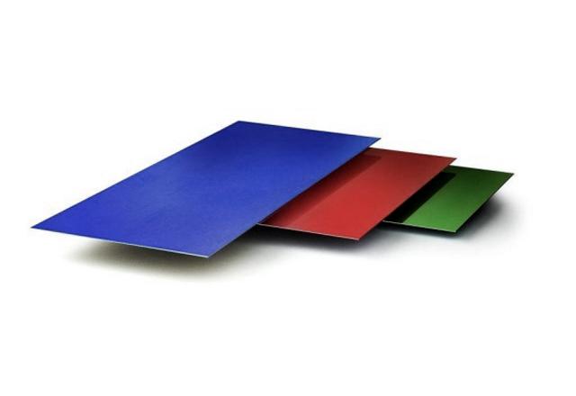 Гладкий лист c полимерным покрытием