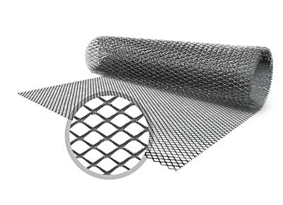 Сетка ЦПВС 5x5-0.5-1.2мм в рулонах 1x10м